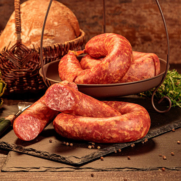 Original Thüringer Bratwurst mit Kümmel, Kümmelbratwurst